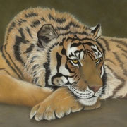 """All Alone""     Soft Pastel   Sold - Prints Available"