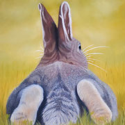 """""""Waiting for the Tortoise""""   Soft Pastel   Sold"""