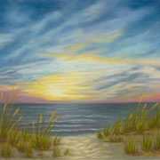 Seascape III   -   Soft Pastel   -  Sold