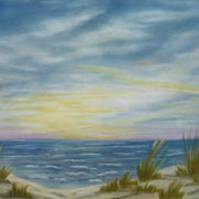 The Dunes - Another View    -   Soft Pastel   -  Available