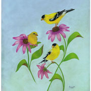 Summer Triangle   -   Soft Pastel   -   Sold - Prints Available