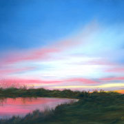 Indiana Sunset   -   Soft Pastel   -  Sold