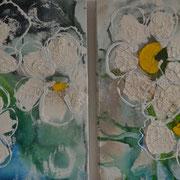 Blüten, je 30/40, 2014