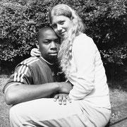 Fanny Brigaut et Etienne Boriel 6-07-2000-16h.