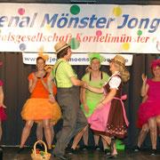 Sessionseröffnung der KG Orjenal Mönster Jonge, 10. November 2012