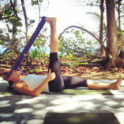 Yoga at the beach with Barefoot Yoga