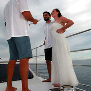Katarina Sail Charter wedding