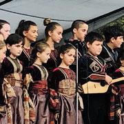 Géorgie - concert à Mestia