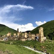Géorgie - les maisons-tours d'Ushguli