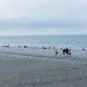 Géorgie - Batoumi - la plage