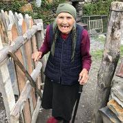 Géorgie - une habitante d'Ushguli