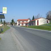 Das Feuerwehrhaus an der Ochsenhut