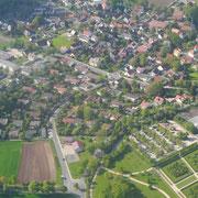 Der Stadtteil von Süden (Mai 2015)