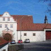 Schlossgut vom Sandnerweg aus gesehen