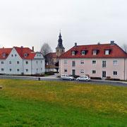Häuser am Sachsenberg