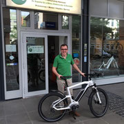 BMW e-Bike im e-motion e-Bike Premium Shop Hannover