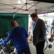 e-motion e-Bike Welt Düsseldorf beim Düsseldorfer Fahrradtag 2013