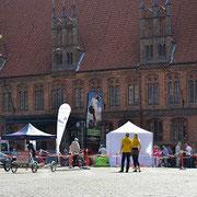 Test-Parcour und e-Bike Probefahrten