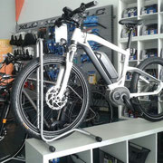 BMW e-Bike in der e-motion e-Bike Welt Ulm