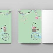 A5 Heft Fahrrad