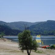 Le lac de Saint-Ferréol pour les sportifs