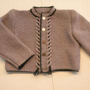 """Babytrachtenjacke aus 7 Kn. """"Zara"""" von Filatura di Crosa, Fr. F. Wimmer"""
