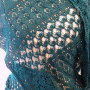 """Adventskalenderschal aus """"Jaipur Silk"""" von BC Garne, Fr. I. Brunner"""
