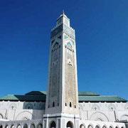ハッサン2世モスク 巨大で豪奢