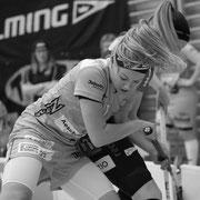 Unihockey Playoff 1/4-Final der NLA Frauen zwischen R.A. Rychenberg Winterthur und Skorpion Emmental Zollbrueck am Samstag  dem, 25 Maerz 2017 in der Halle Oberseen in Oberseen Winterthur.