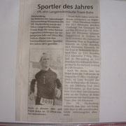 Artikel Sportler des Jahres 2011