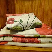 Rosenduft aus echten Blüten, Duftkissen zum Entspannen,  Kräuterkissen, Duftkissen