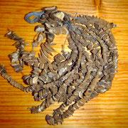 Räucherkette Alant, Wurzelwerk aus aus meinem Garten, 12 euro, Räuchern mit Heimischen Wurzeln und Kräutern