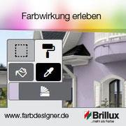 Brillus App für Farbendesign