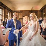 Klassische und elegante Hochzeit