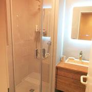 Appartementplanung, Badezimmer nach Fertigstellung, Atelier Feynsinn, Rolf Kullmann, Innenarchitkt Köln