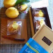 岡山倉敷モアガーデンさん 大三島さんレモンケーキ
