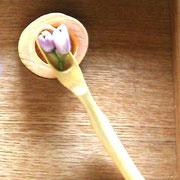 レモンの花のつぼみ