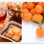 東京のヨンちゃんより 温州みかんピール入りのクッキー