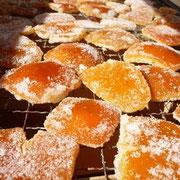 八朔伊予柑ピール 昔懐かしい橘皮菓子 ほんのりとした苦味が癖になります。