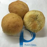 HOTEL PLAZA OSAKA  焼肉鉄板焼「逢坂」様の 陳皮パン