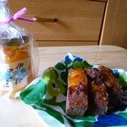 大阪Aさん 伊予柑マーマレードケーキ