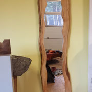 """Waldkanten Spiegelbild """"2014""""  Für den der Aktente setzen möchte mit Holz auf seiner individuellen Seite"""