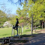 Trimm-Dich-Pfad Lörrach und Laufstrecke mit Outdoor-Fitness-Geräten