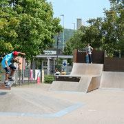 Skater-Anlage beim Grüttpark nahe Restaurant Ginza