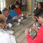 réalisation d'une crème hydratante après visite des jardins@les_jardins_de_koantiz