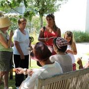 Atelier parfum au jardin botanique Yves Rocher , été 2012@les_jardins_de_koantiz