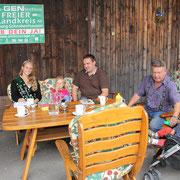 drei Klink-Generationen und die bayerische Kartoffelkönigin
