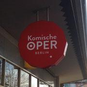 Die komische Oper in Berlin