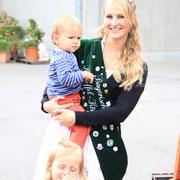 Kathrin mit unseren Kleinsten