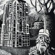 Oldehove met Bonifatius / Leeuwarden